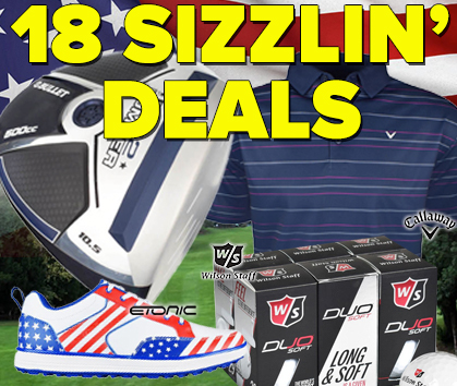 15% Off Sitewide! - 18 Sizzlin' Hot Golf Gear Deals! - Shop Now!