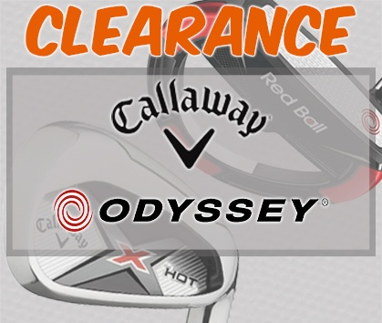Callaway & Odyssey CLEARANCE - Shop Now!