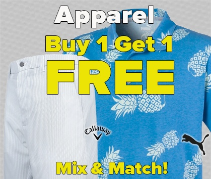 Buy One, Get One FREE Apparel Sale - Shop Now!