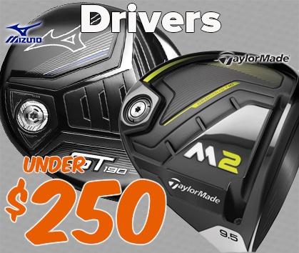 Drivers Under $250 - Shop Now!