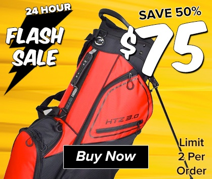 FLASH SALE! Hot-Z 3.0 Stand Bag ONLY $75! - Shop Now!