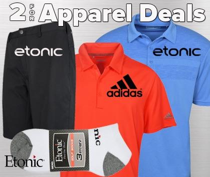 2 For Apparel Deals!