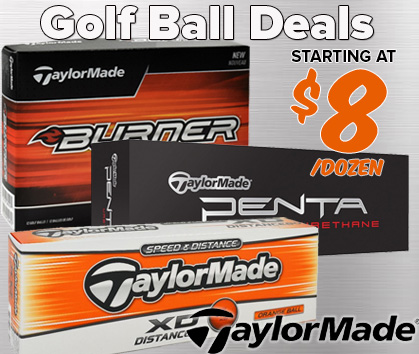 TaylorMade Golf Ball Deals - Starting At $8/doz!