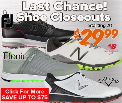 Last Chance Closeout Shoes - Starting At $29.99!