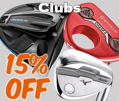 15% Off SELECT Golf Clubs! - Shop NOW!