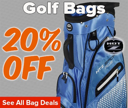 20% Off SELECT Golf Bags! - Shop Now!