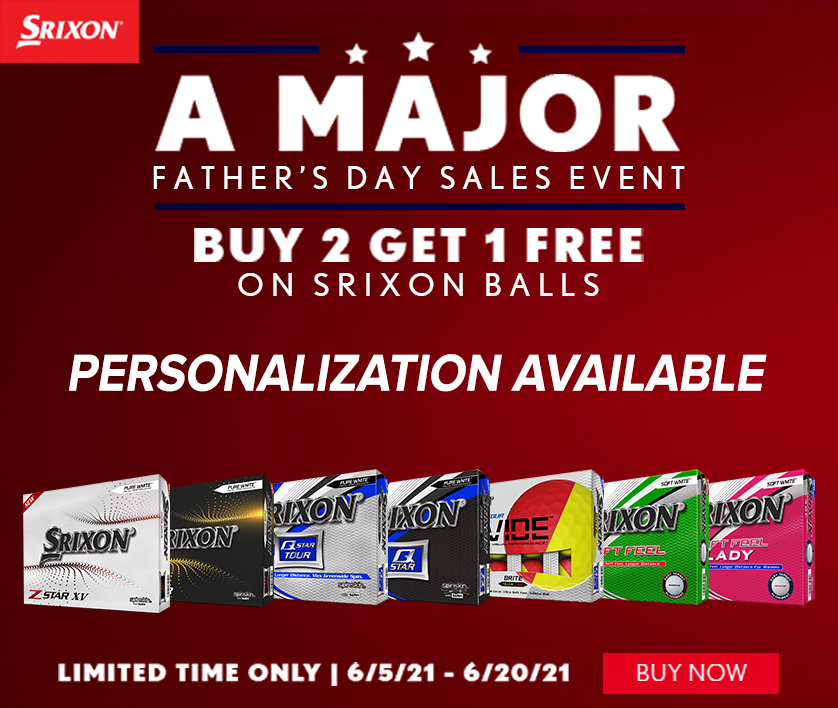 Srixon Golf Buy 2 Get 1 FREE! Hurry - Limited Time Offer! Shop Now!