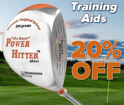 20% Off Golf Training Aids! Shop Now!