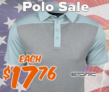 Polo Sale ONLY $17.76/Each! - Shop Now!