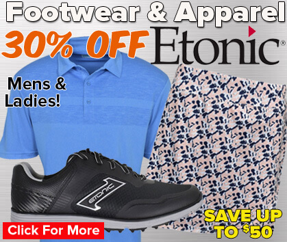 30% Off Etonic Footwear & Apparel - Save Up To $50!