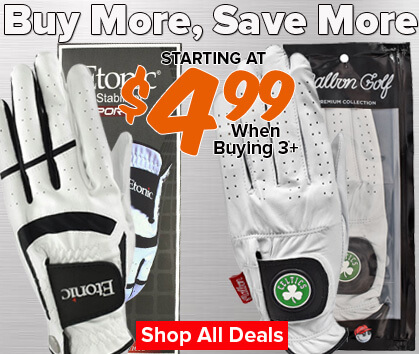 Buy More, Save More Glove Sale - Starting At $4.99/glv When Buying 3+!