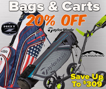20% Off Bags & Carts - Save Up To $309!