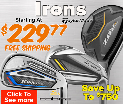 Irons Starting At $229.99 - Save Up To $750!