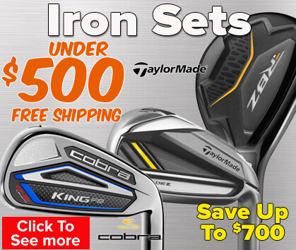 Iron Sets Under $500 - Save Up To $700!