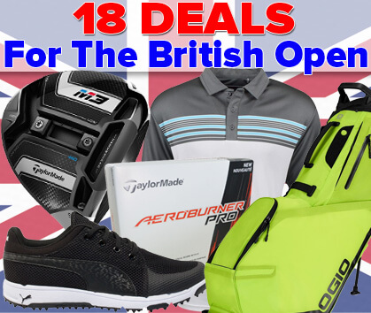 18 INCREDIBLE Deals For The British Open!