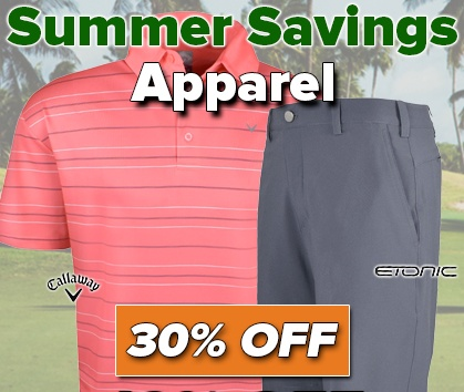 Summer Savings! 30% Off Apparel! - Shop Now!