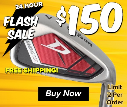 Flash Sale - Wilson Red Maxx Irons $150 w/ FREE SHIPPING - TODAY ONLY!