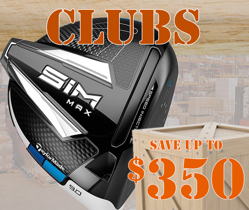 Warehouse Deals On Golf Clubs! Save Up To $350! Shop Now!