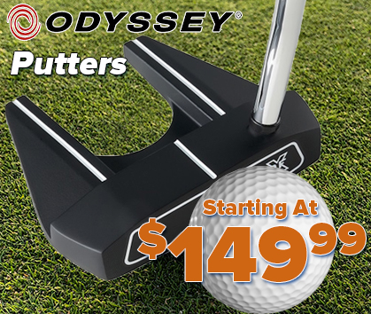 New Odyssey Golf Putters Starting At $149.99! Shop Now!