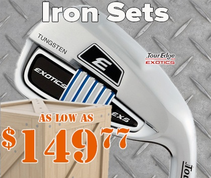 Warehouse Sale! Iron Sets As Low As $149.77! Shop Now!