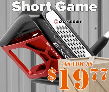 Warehouse Sale! Short Game As Low As $19.77! - Shop Now!