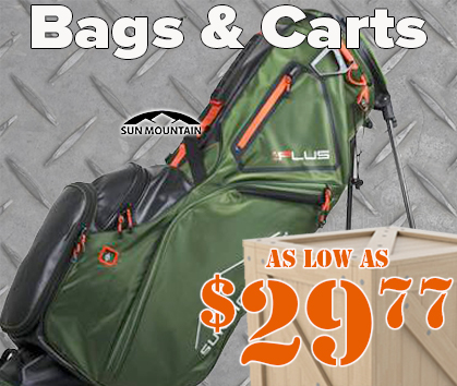 Warehouse Sale! Golf Bags and Carts As Low As $19.77! - Shop Now!