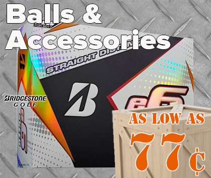 Warehouse Sale! Golf Balls As Low As 77¢! - Shop Now!