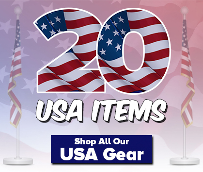 Go Team USA! Celebrate the 2020 Games in Tokyo With USA Golf Gear! Shop Now!