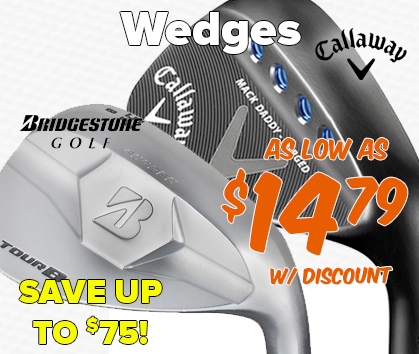 Wedges As Low As $14.99 - Save Up To $75!