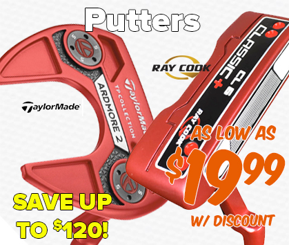 Putters As Low As $19.99 - Save Up To $120!