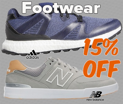 15% OFF Golf Shoes - Shop NOW!
