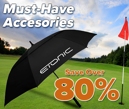 Golf Accessories Clearance Sale! Save Over 80% Shop Now!