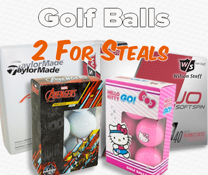 2 For Ball Deals - 99¢ Personalization!