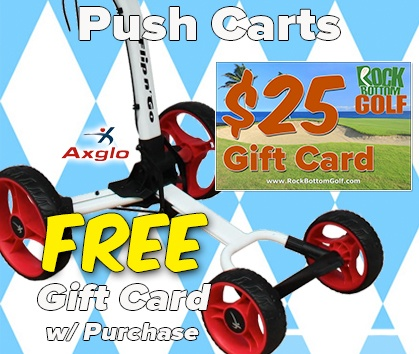 Free $25 Gift Card With Select Golf Cart Purchase! - Shop NOW!