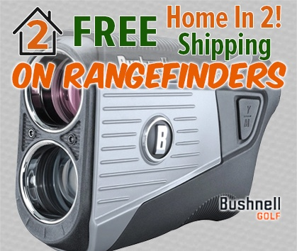 FREE Home in 2! Shipping on Golf's Hottest Rangefinders! - Shop NOW!
