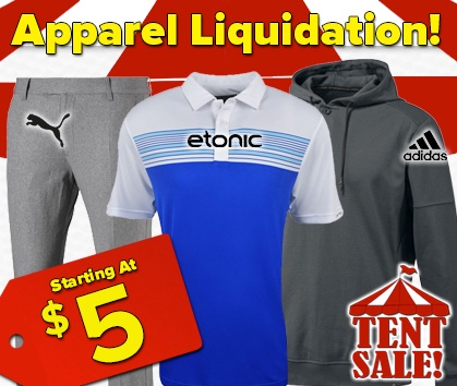 Apparel Liquidation Sale!