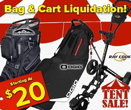 Golf Bag Liquidation Sale!