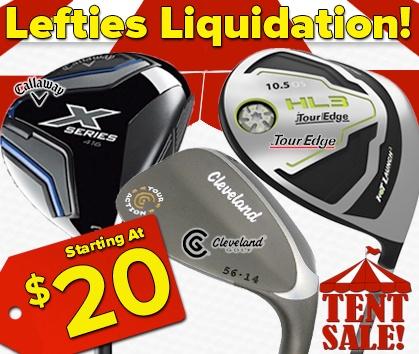 Lefties Liquidation Sale!