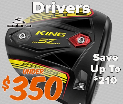 Golf Drivers Under $350! Save Up To $210! - Shop NOW!