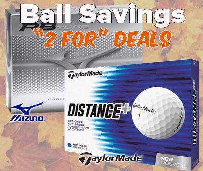 2 For Golf Ball Deals! Stock Up And Save! - Shop NOW!