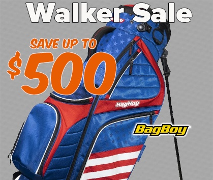 Walker Sale! Save Up To $500 on Push Carts, Shoes, and Golf Bags! Shop Now!