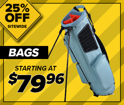 25% Off Golf Bags! Starting at $79.96! Shop Now1