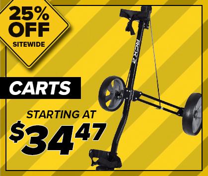 25% Off Golf Cart Clearance! Shop Now!