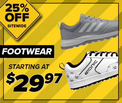 25% Off Footwear Clearance! Shop Now!