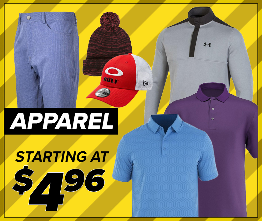 25% Off Apparel! Starting At $4.96! Shop Now!