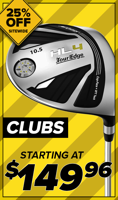 25% Off Golf Clubs! Starting At $149.96!Shop Now!