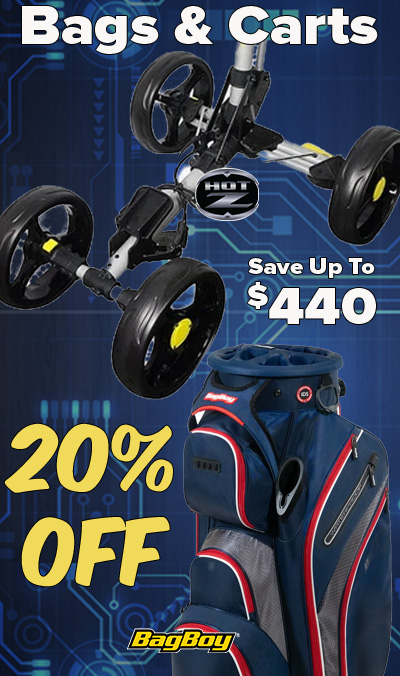 20% Off Golf Bags and Carts!  Save Up To $440! - Shop NOW!