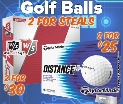 2 For Golf Ball Deals! Stock Up & SAVE- Shop Now!