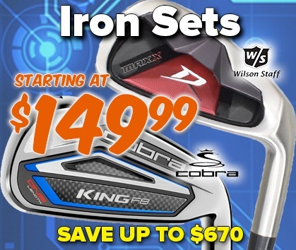 Iron Sets Starting At $149.99 - Shop Now!