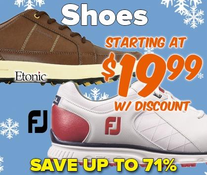 Footwear Starting At $19.99 - Shop Now!